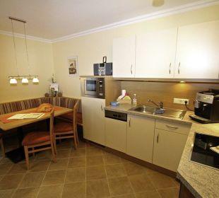 Wohnküche Planai Ferienwohnung Vive Diem