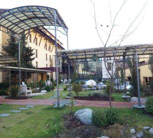 Gartenanlage Thermenhotel Ronacher