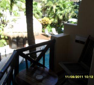Unser kleiner, aber feiner Balkon Hotel Posada Riviera del Sol