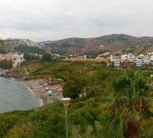 Widok z okna Playacalida Spa Hotel