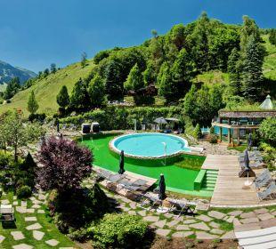 Panorama Gartenanlage Gartenhotel THERESIA