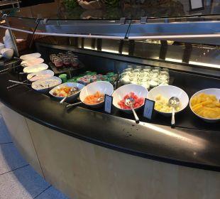 Frühstücksbuffet Hilton Frankfurt City Centre