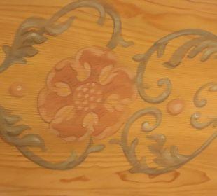 Deckenmalerei Berghotel Tirol