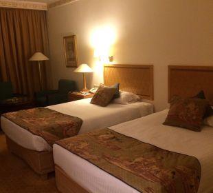Doppelbett Steigenberger Hotel Nile Palace