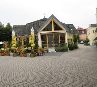 Biergarten Hotel 2 Länder