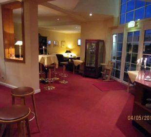Lobby, Terrassenausgang altGlowe Hotel Garni