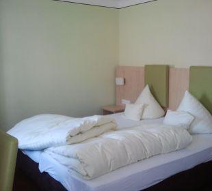 Helles Zimmer, modern eingerichet. Hotel Gasthof Unterwirt