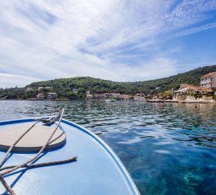 Bootsausfahrt Insel Iz Pension Villa Baroni
