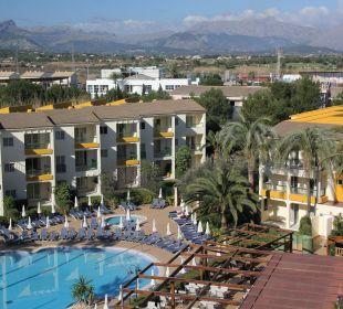 Ausblick Hotel Viva Tropic