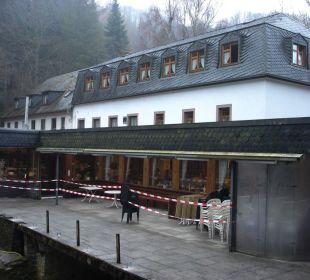 Rückseite Hotel Heidsmühle