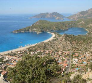 Vom lykischen Weg Blue Lagoon Hotel Oludeniz