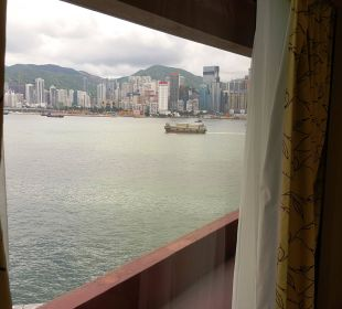 "Das ist ""partial harbour view"" Hotel InterContinental Hong Kong"