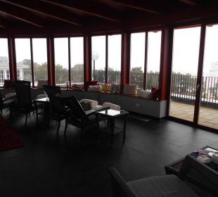 Der schöne Ruheraum der Panoramasauna Strandhotel Heringsdorf