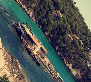 Ausblick vom Balkon Olimarotel Gran Camp de Mar