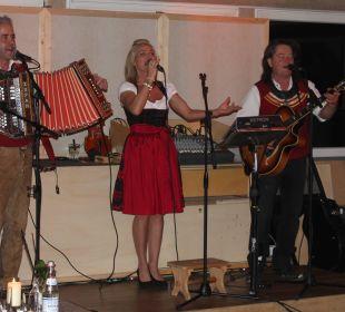 Das Trio Panorama bei ihrem Auftritt Hotel Panorama