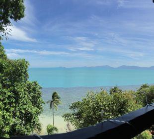 Ausblick von der Terrasse Belmond Napasai
