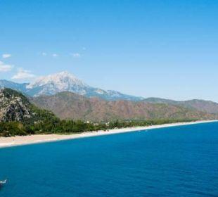Strand vom Cirali Hotel Anatolia Resort
