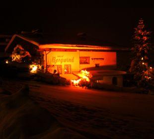 Haus im Winter Haus Bergwind