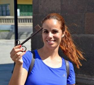 Unsere gute Fee Arianna vom Hotel Hotel Riu Garoe