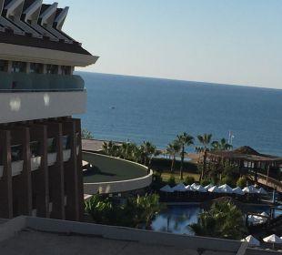 Blick vom Balkon Sherwood Dreams Resort