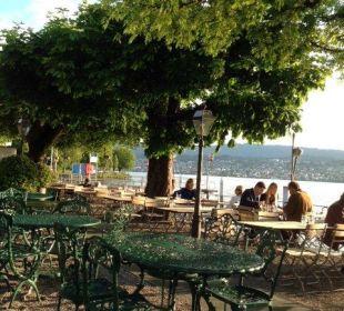 Am See das Essen geniessen Romantik Seehotel Sonne