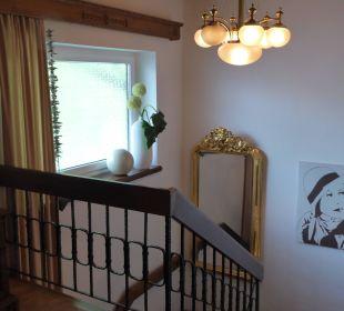 Treppenhaus oben Haus Madlein