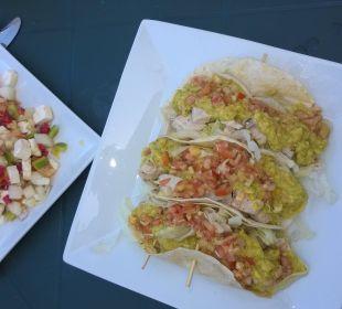 Und wieder Tapas und Salat Villa Serena