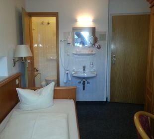 Blick zun Bad Hotel Trifthof