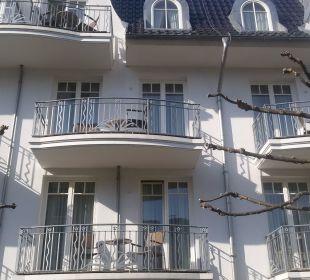Blick auf unser Zimmer Vier Jahreszeiten Kühlungsborn -  Hotel