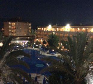 Mein Blick am Abend vom Zimmer Hotel Mirador Maspalomas Dunas
