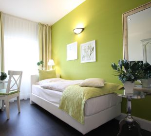 """Einzelzimmer """"Froschkönig"""" Hotel Residence Bremen"""