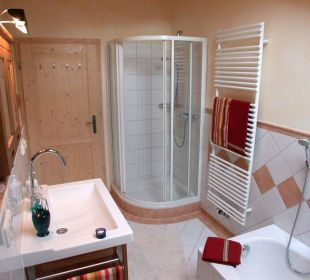 Badezimmer Ferienwohnung Haus Rosenrot