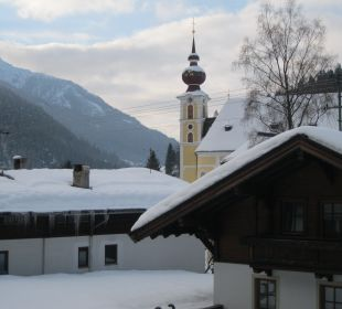 Blick aus dem Zimmer Erlebnishotel Tiroler Adler