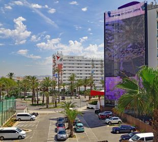 Video-Wand Hard Rock Hotel Ibiza
