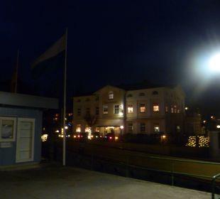 Nachtaufnahme Hotel Luitpold am See 1&2