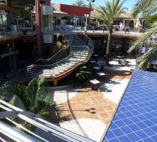 Treppe zum unteren Bereich Dunas Suites&Villas Resort