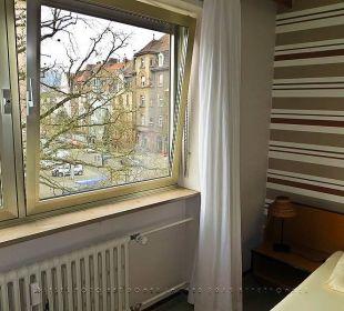 Zimmerblick nach St. Johann Hotel Kaiserhof
