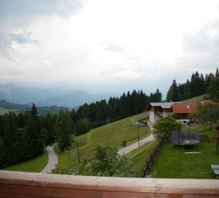Blick vom Balkon Almgasthof Baumschlagerberg