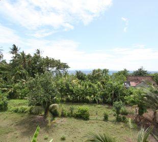 Rumah isah - Blick auf das Meer Nusa Indah Bungalows & Villa
