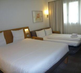 Doppelzimmer mit Aufbettung Hotel Novotel München City