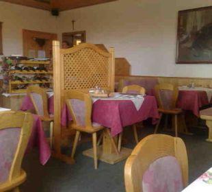 Gästespeiseraum Hotel Alpenrose