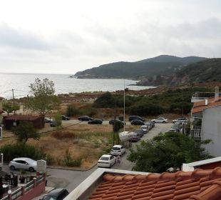 Blick von der Dachterrasse Apollon Xenonas Apparthotel