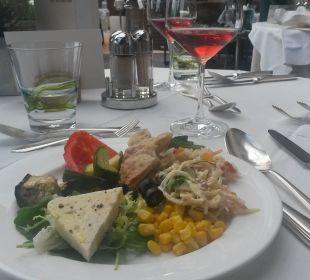 Antipasti vom Buffet  Genusshotel Der Weinmesser
