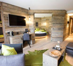 Chaletsuite - neue Zimmerkategorie 2016 Hotel Schwarzenstein