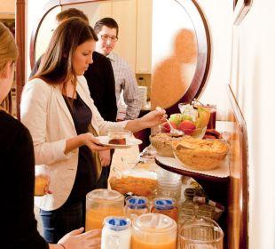 Frühstücksbuffet Pension Neuer Markt