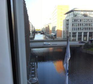 Ausblick Steigenberger Hotel Hamburg
