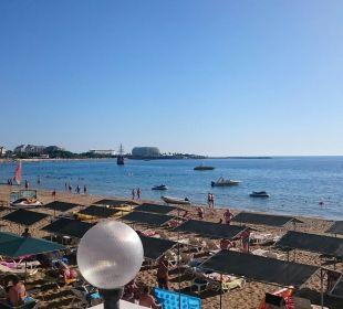 Blick von der Strandbar aus Hotel Arabella World