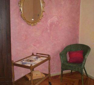 Sitzecke im Zimmer Apartment mitten in Bamberg