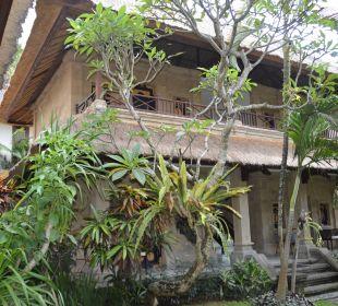 Blick zum Zimmer Hotel Bali Agung Village