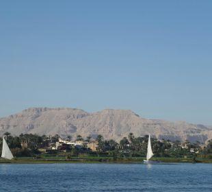 Von der Gartenanlage Achti Resort Luxor